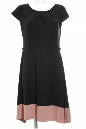 Anna Field Robe stretch noir-saumon style simple