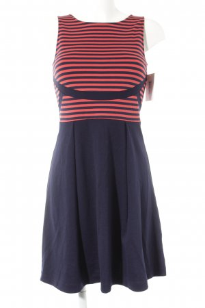 Anna Field Stretch Dress black-red striped pattern casual look