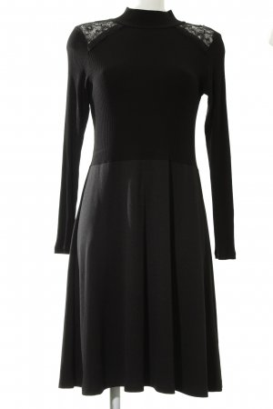 Anna Field Robe stretch noir style simple