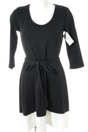 Anna Field Stretchkleid schwarz-weiß 50ies-Stil