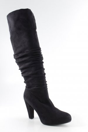Anna Field Stretch Boots black casual look