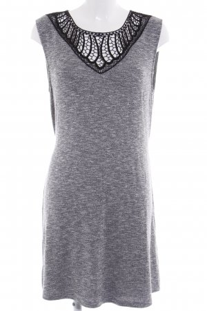 Anna Field Knitted Dress black-grey flecked casual look