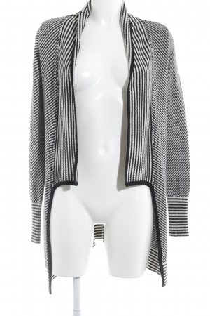 Anna Field Knitted Vest black-white striped pattern casual look