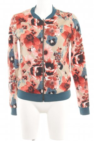 Anna Field Sweatjacke florales Muster Casual-Look