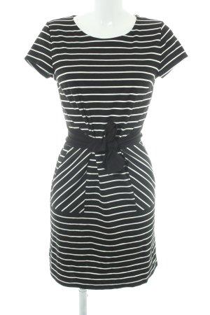 Anna Field Sweat Dress black-white striped pattern business style