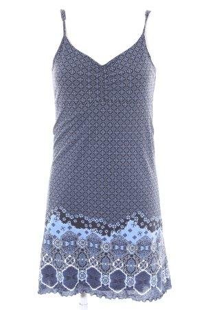 Anna Field Trägerkleid kornblumenblau-dunkelblau abstraktes Muster Casual-Look