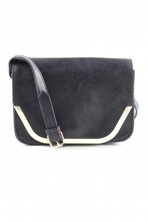 Anna Field Crossbody bag black-gold-colored casual look