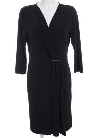 Anna Field Wickelkleid schwarz Elegant