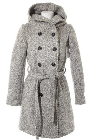 Anna Field Cappotto invernale grigio chiaro-grigio puntinato stile casual