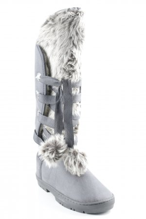 Anna Field Winter Boots grey athletic style
