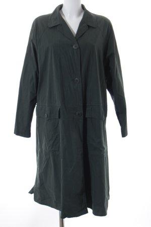 Anna K Trench Coat dark green street-fashion look