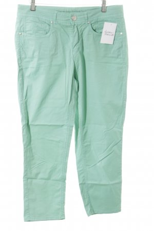 Anna Montana Jersey Pants turquoise street-fashion look