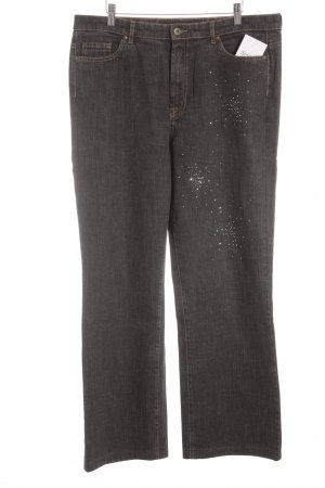 Anna Montana Straight Leg Jeans anthracite casual look