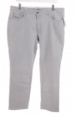 Anna Montana Stretch Jeans hellgrau Casual-Look