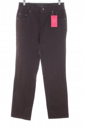 Anna Montana Stretch Trousers bronze-colored casual look