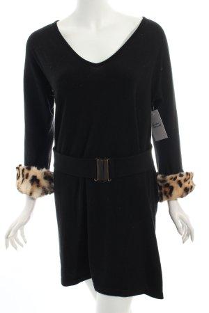 Anna Rachele Long Sweater leopard pattern elegant