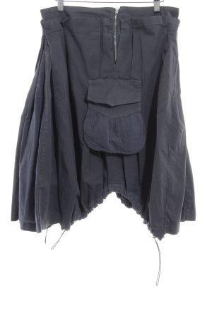 Anna Rita N Cargo Skirt dark grey extravagant style