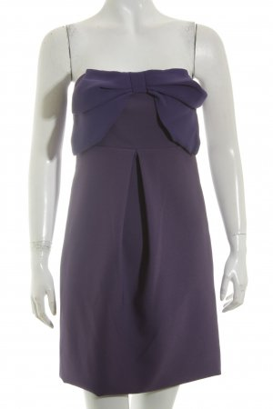 Anna Rita N Mini Dress lilac-dark violet elegant