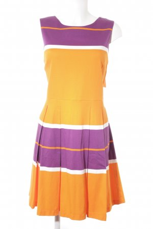 Anna's Dress Affair schulterfreies Kleid Streifenmuster Street-Fashion-Look