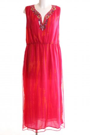 Anna Scholz for Sheego Maxi-jurk roze casual uitstraling