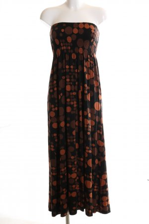 Anna Scholz for Sheego Maxi-jurk gestippeld patroon elegant