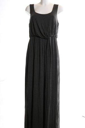 Anna Scholz for Sheego Maxi-jurk zwart casual uitstraling