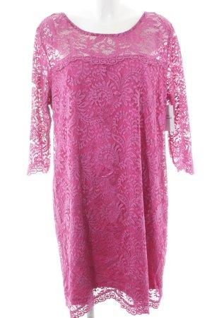 Anna Scholz for Sheego Spitzenkleid pink Elegant