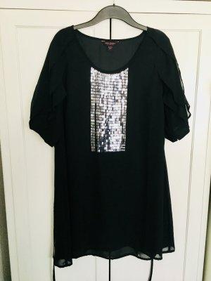 Anna Scholz Party-Kleid Gr. 48 - schwarz