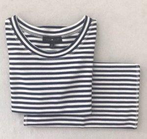 ANNA SCOTT 2-Teiler Kostüm Kleid Rock Shirt / XS 34 / Figurbetont.
