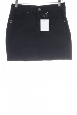 Anna Scott High Waist Rock schwarz Casual-Look