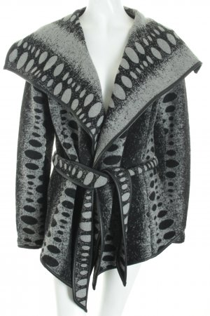 Anna Scott Jacket black-grey flecked street-fashion look