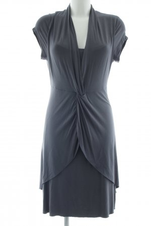 Anna Scott Jersey Dress grey casual look
