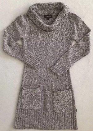 Anna Scott Gebreide jurk donkerbruin-room