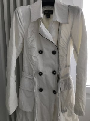 ANNA SCOTT MANTEL TRENCHCOAT WEISS / 34/XS / Sommermantel