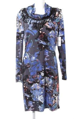 Anna Scott Mini Dress abstract print casual look