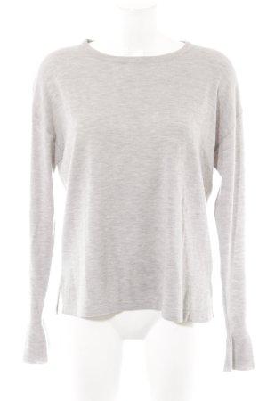 Anna Scott Jersey de lana gris claro mullido