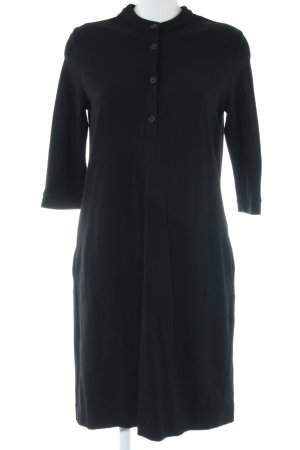 Anna Seravalli Polo Dress black casual look