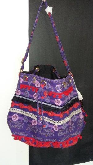 Anna Sui Borsa shopper multicolore
