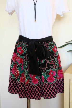 Anna Sui Mini-jupe multicolore