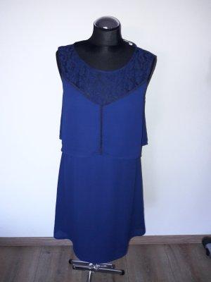 anna und ella kleid gr. 38 blau