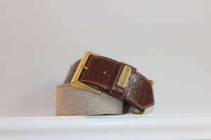 Waist Belt brown-beige leather