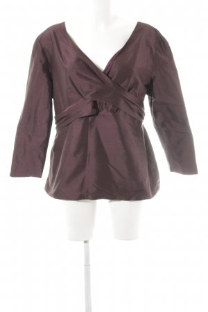 Anna von Griesheim Long Sleeve Blouse bordeaux elegant