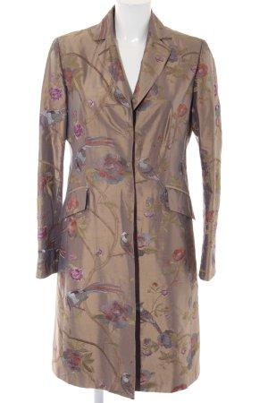 Anna von Griesheim Between-Seasons-Coat flower pattern casual look