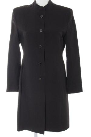 Anna von Griesheim Between-Seasons-Coat black-dark red college style