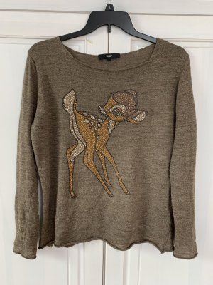Annaeffe Sweater brown