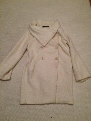 Anna Rita N Between-Seasons-Coat white viscose