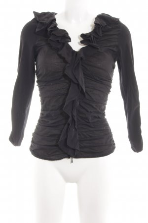 Anne Fontaine Blouse Jacket black elegant