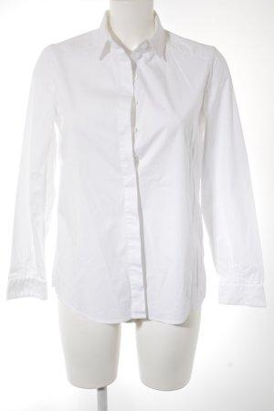 Anne Fontaine Camisa de manga larga blanco elegante