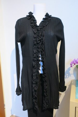 Anne Fontaine Knitted Cardigan black wool