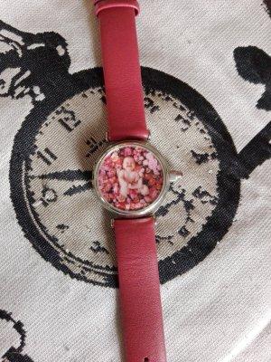 Anne Geddes Uhr mit Klapp-Deckel - Batterie ist erneuert